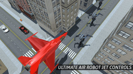 Air Robot Game - Flying Robot Transforming Plane screenshot 5