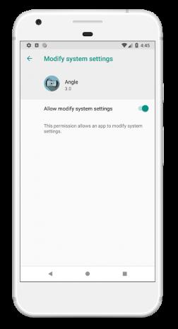 Angle - Screen Rotation Orientation Lock Control 3 1 Download APK