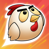 Rocket Rooster Icon