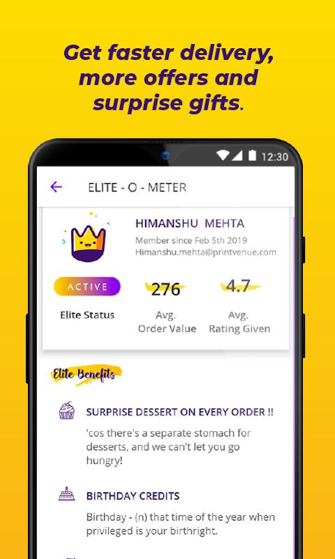FAASOS - Order Food Online screenshot 2