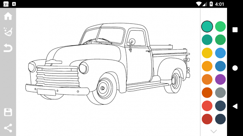 American Cars Coloring Book 1.7 Download APK for Android - Aptoide