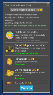 Crosswords - Spanish version (Crucigramas) screenshot 10