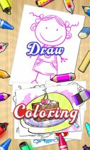 Draw+Coloring Books Screenshot