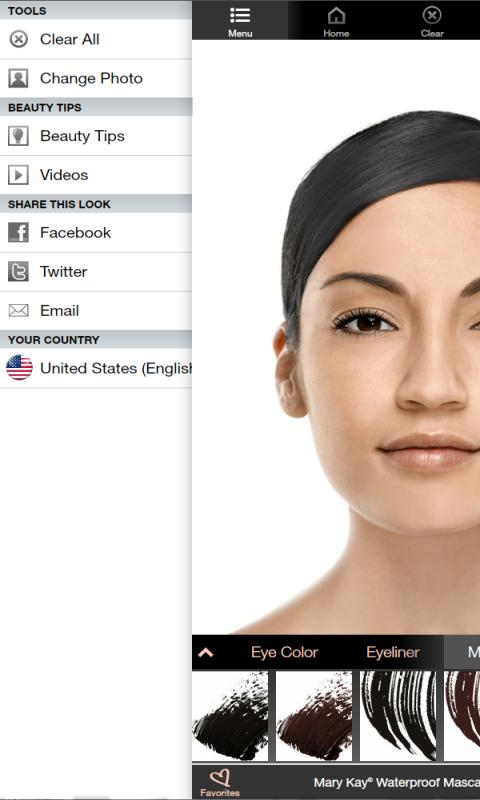 Mary Kay® Virtual Makeover screenshot 1