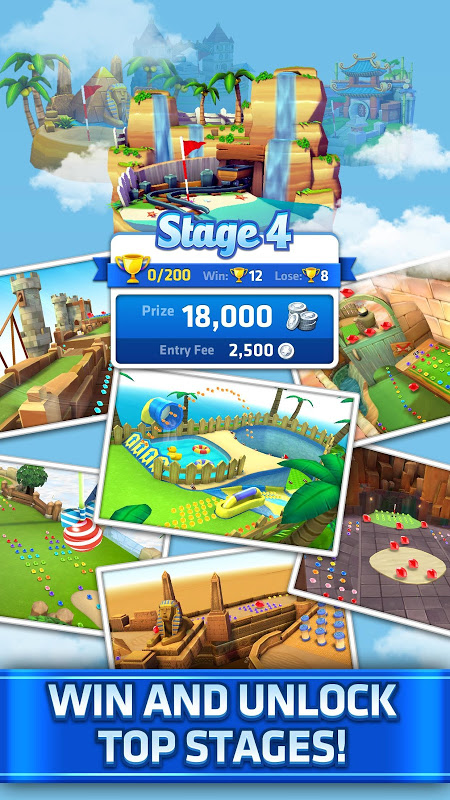 Mini Golf King - Multiplayer Game screenshot 2
