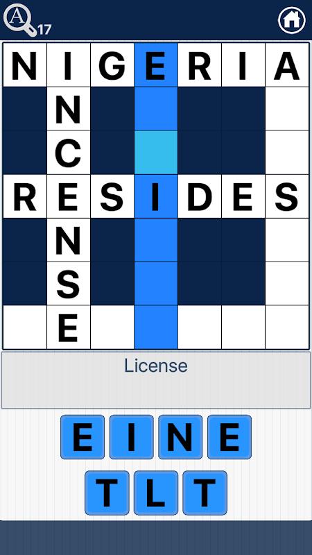 Crossword Quiz English - Word Fit Puzzle screenshot 2
