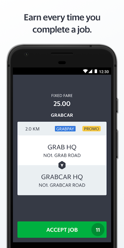 Grab Driver screenshot 2