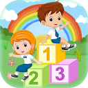 123 Kids Learning Basic Number