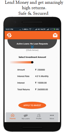 Z2P - Get Instant Loans, Borrow, Lend, Invest 2 42 Download APK for