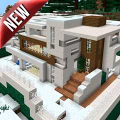 Modern Redstone House MCPE map 1 2 Download APK for Android