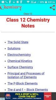 Class 12 Chemistry Notes 7 4 Download APK for Android - Aptoide