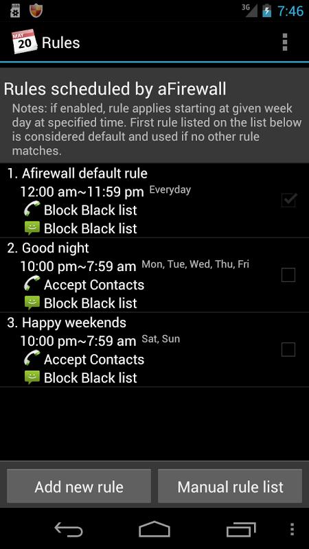 Call & Message blocker screenshot 2