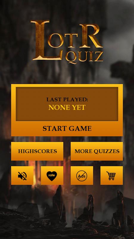 Quiz for LOTR screenshot 1