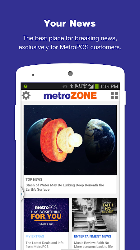 MetroZone screenshot 1