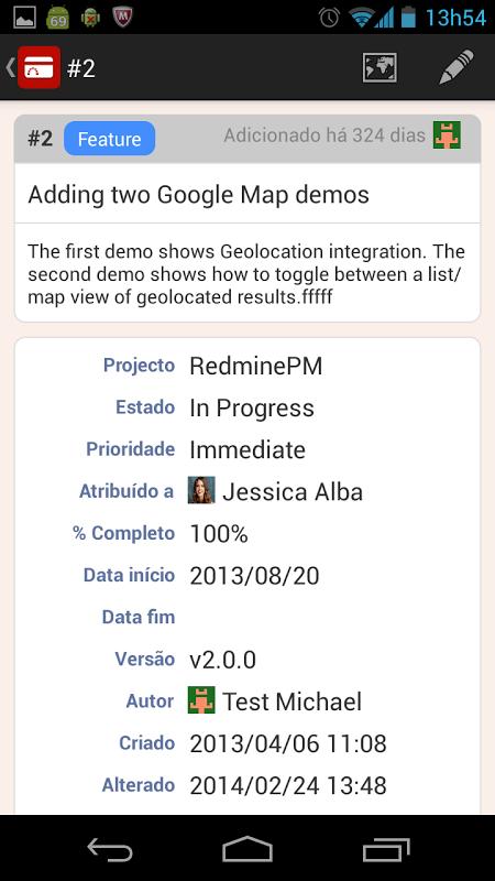 RedminePM - Redmine Client App screenshot 2