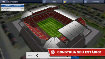Captura de ecrã Dream League Soccer