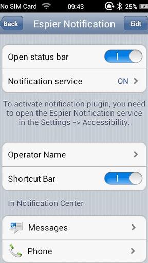 Espier Notifications (BETA) Screenshot