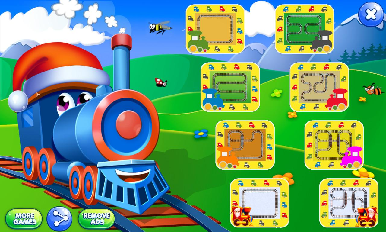 Trains for kids screenshot 1