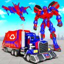Flying Garbage Truck Robot Transform: Robot Games