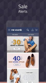 Mr Voonik - Online Shopping App screenshot 3