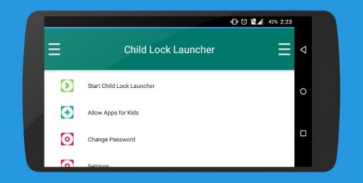Child Lock Launcher screenshot 14