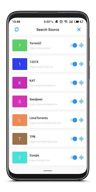 TorrSE - Torrent Search Engine screenshot 2