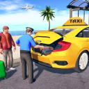Grand taxi simulator: moderno jogo de táxi 2020