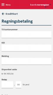 Bank Norwegian screenshot 4