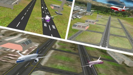 City Flight Airplane Flying Simulator screenshot 6