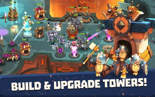 Castle Creeps TD screenshot 10
