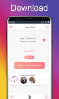 InstaSave - fastsave for Instagram Screen