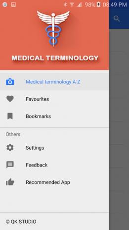 تحميل APK لأندرويد - آبتويد Medical terminology - Offline7 0