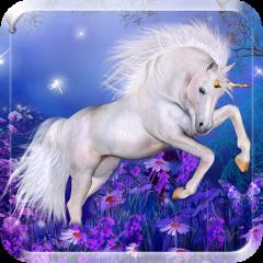 Magic Unicorn Live Wallpaper Icon