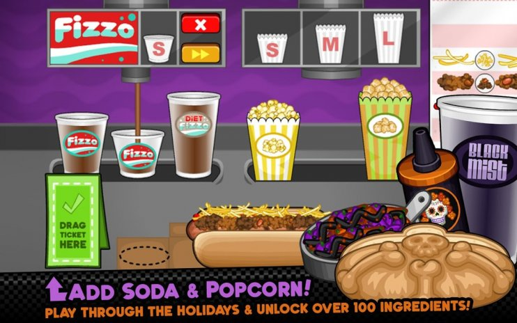Download papa's hot doggeria to go! Apk (update v1. 0) for android.