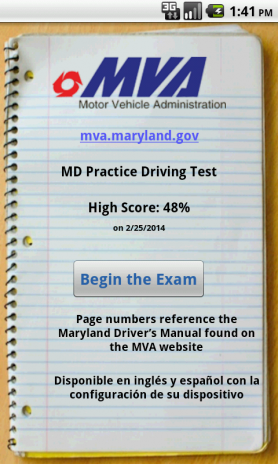 md practice driving test 1.2 download apk for android - aptoide