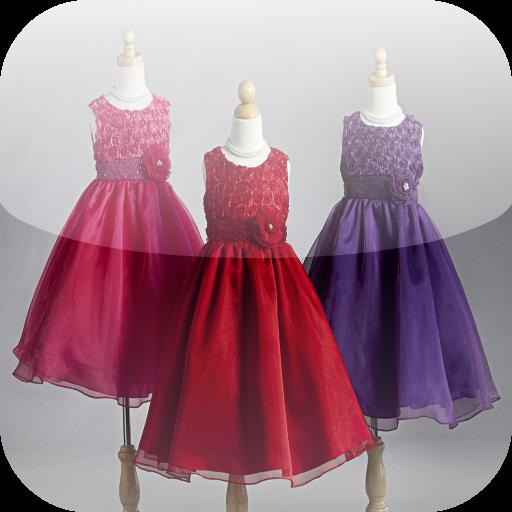 Ícone Kids Dresses Design Ideas