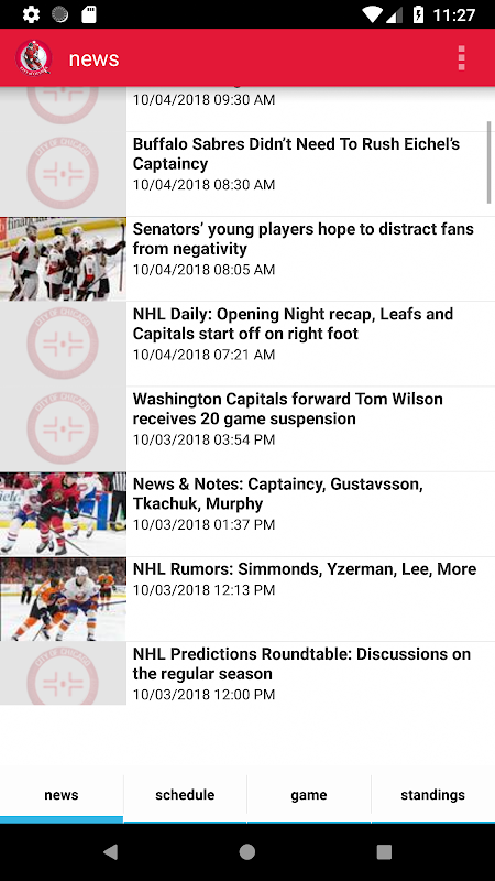 Ottawa Hockey - Senators Edition screenshot 1