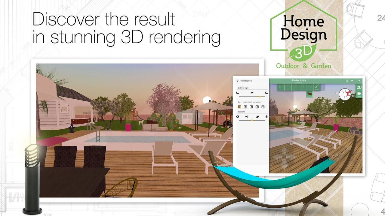 ... Home Design 3d Outdoor Garden Screenshot 5