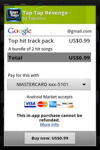 Tap Tap Revenge 4 screenshot 5