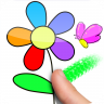 Draw+Coloring Books Icon