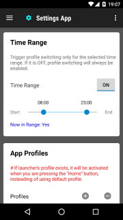 Settings App screenshot 2