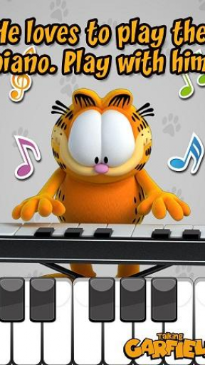 Talking Garfield Free screenshot 2