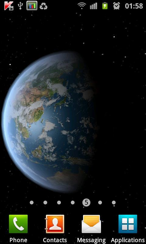 Earth HD Free Edition screenshot 2