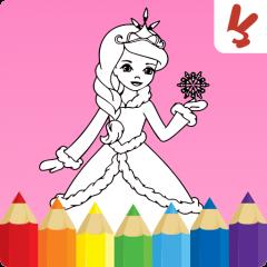 Boyama Kitabı çocuk Prensesler 156 Android Aptoide Için Apk Indir