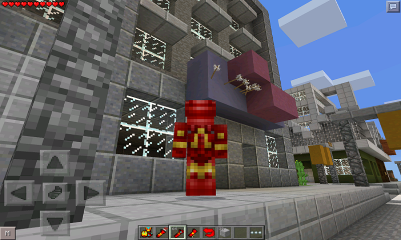 Mod Iron Man for MCPE screenshot 2