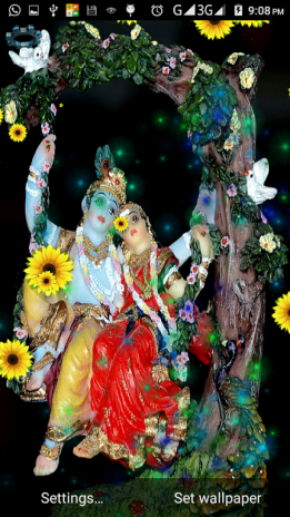 4d Krishna Live Wallpaper 12 Download Apk For Android Aptoide