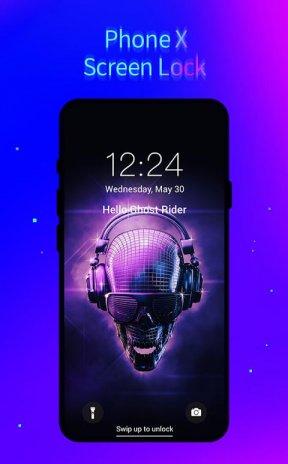 3d Lock Pro Phone X Live Lock Screen Hd Wallpaper 1 1 0 Telecharger