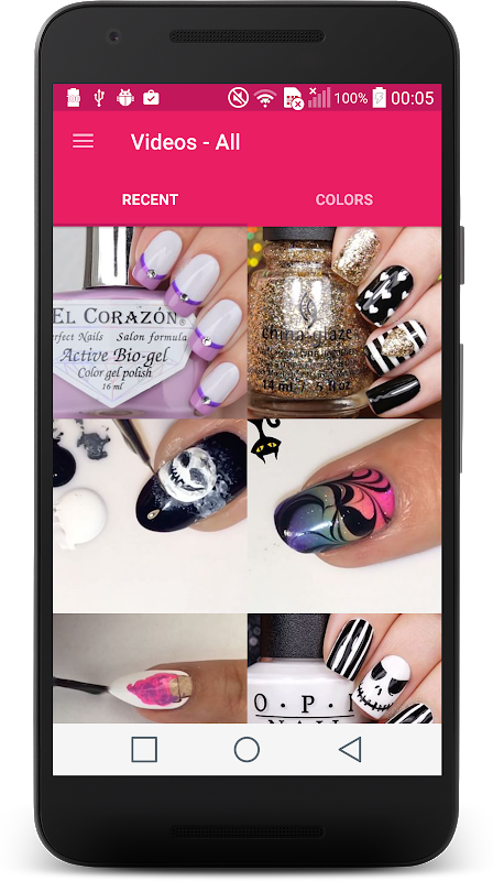 Nail Art Designs 2018 💅 screenshot 1
