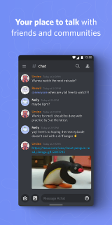 Discord - Talk, Video Chat & Hang Out with Friends screenshot 1