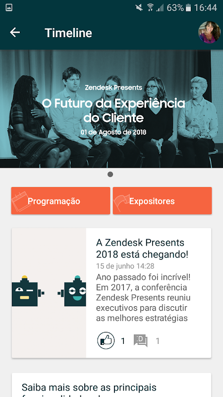 Zendesk Presents 2018 screenshot 2